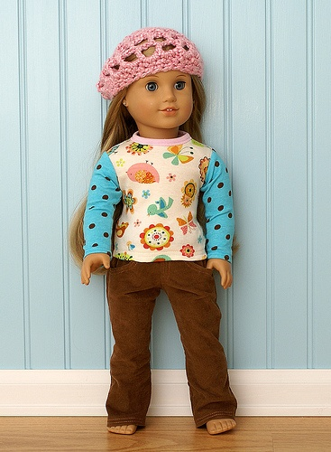 American Girl Doll Clothes-Fall Birds Set