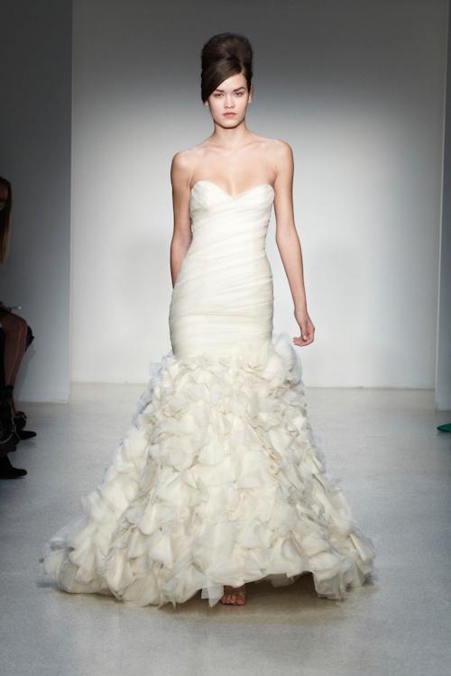 Kenneth Pool Fall 2013 Wedding Dress Collection