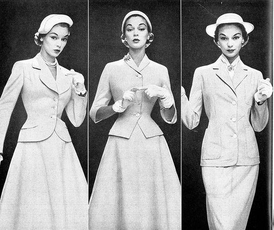 1950's fashion model