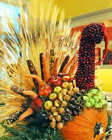 Thanksgiving Turkey Centerpiece