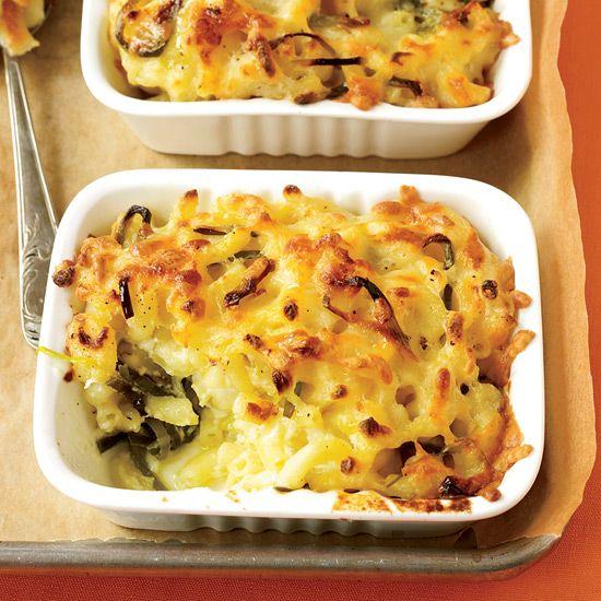 Leek Mac & Cheese // More Great Mac & Cheese Recipes: www.foodandwine.c... #foodandwine