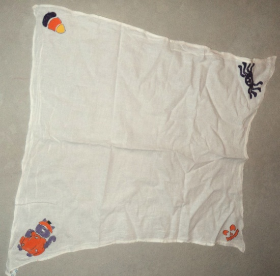 Stamped Halloween Cloth