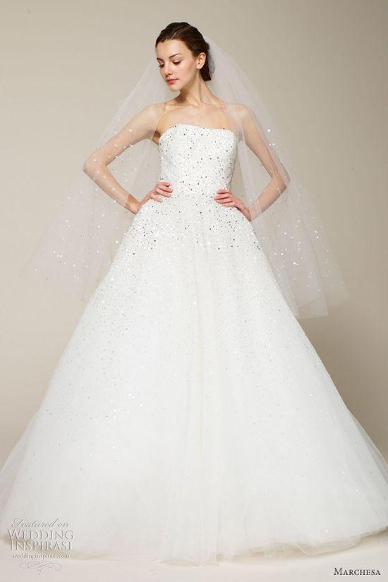 marchesa bridal spring 2013 wedding dress