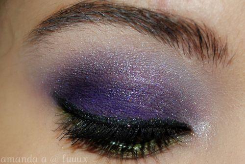 purple.