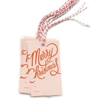 Christmas: DIY Gift Tags (Waiting on Martha)