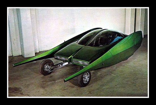 """Stilleto"" Show Car, 1960's"