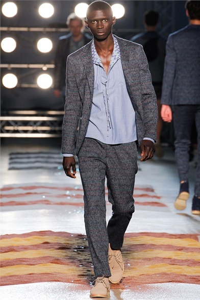 Missoni - Men Fashion Spring Summer 2013 - Shows - Vogue.it