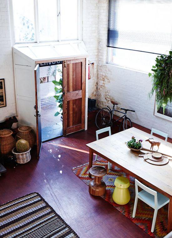 live here • sarah nolan's home, melbourne, australia • photo: sean fennessy • via the design files