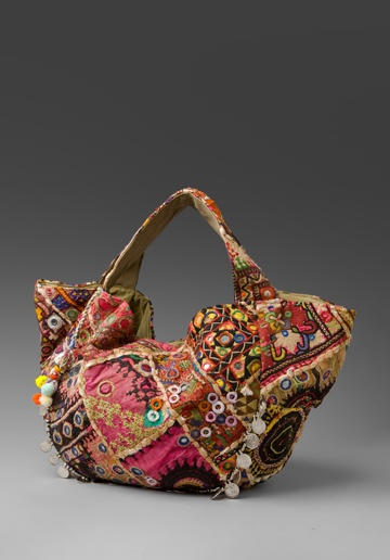 patchwork purse - always wanted a 'carpet bag'.....