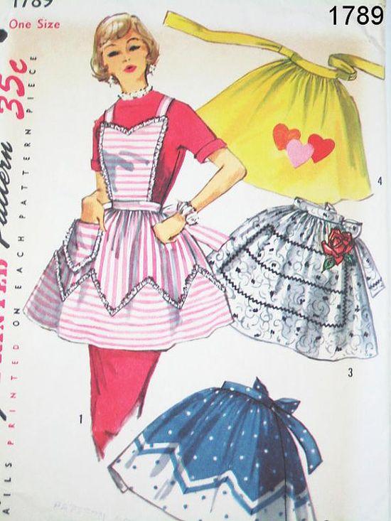 Vintage Aprons (patterns)