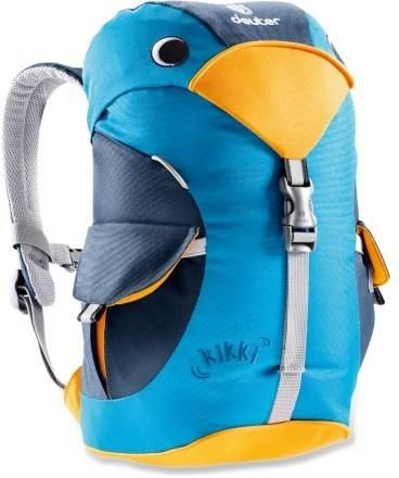 Slip the Deuter Kikki pack on your toddler's back and watch your little one thrill at carrying their treasures in this bird of paradise turned backpack. #REIGifts
