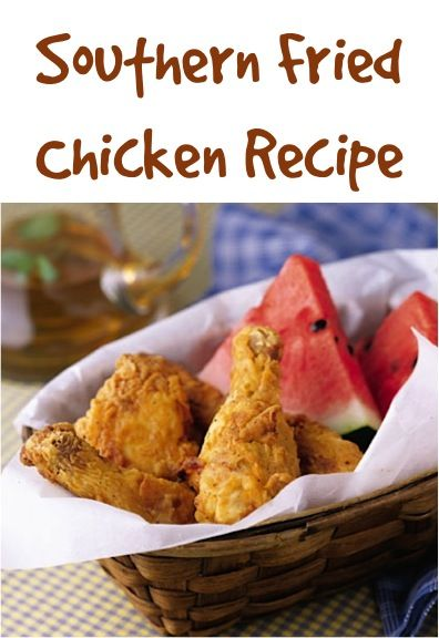 Southern Fried Chicken Recipe! #chicken #recipes