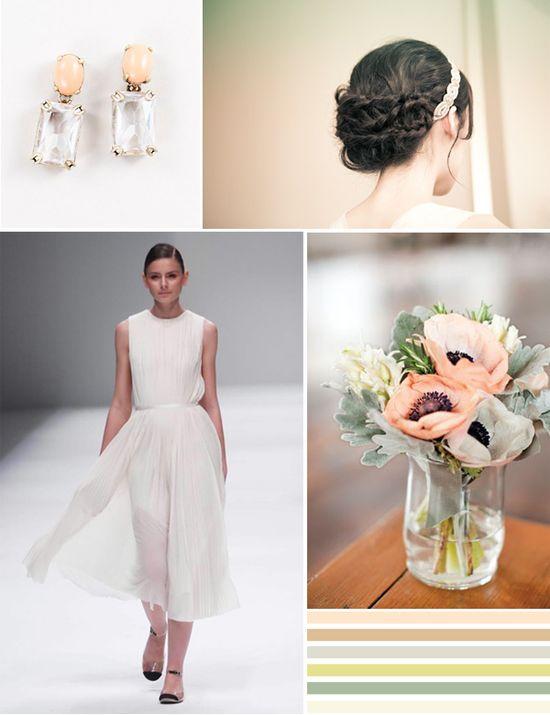 peach wedding ideas #peachweddingfashion #peachweddingideas #peachweddingdecor