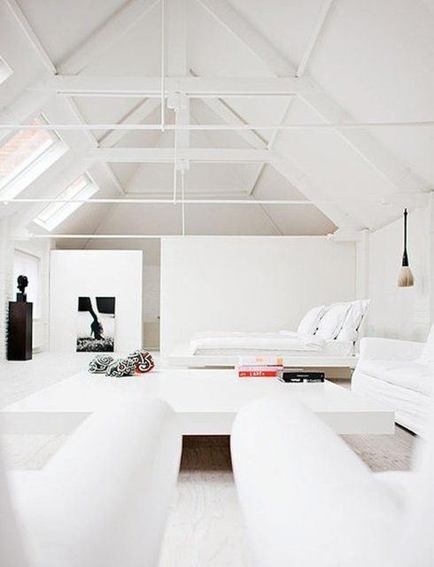 justthedesign:    Loft Living Room Designed By Johanne Riis