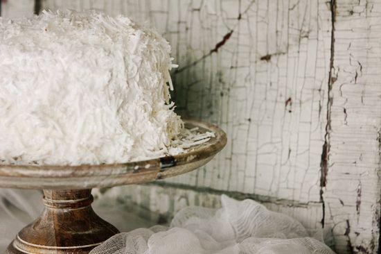 Coconut Cake   #Saveur