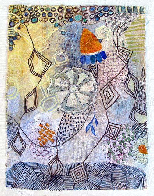 Petit Dessin 14   Watercolors on St Armand paper