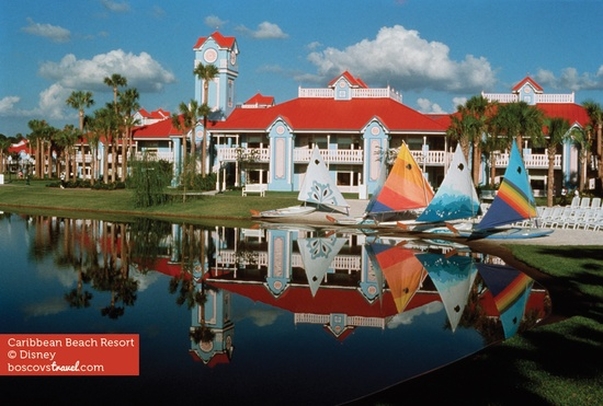 The Caribbean Beach Resort at Walt Disney World