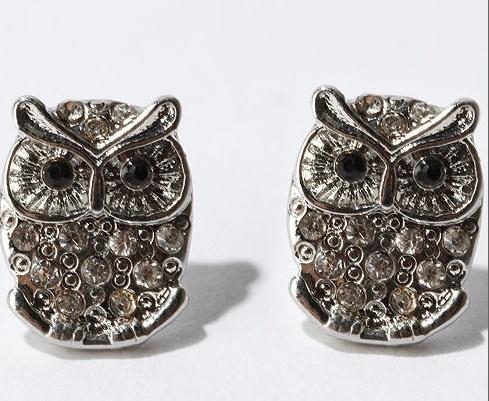 owl earrings, #earrings