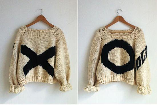 x o sweaters so perfect via m.df