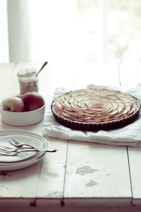 ? tarte aux pommes