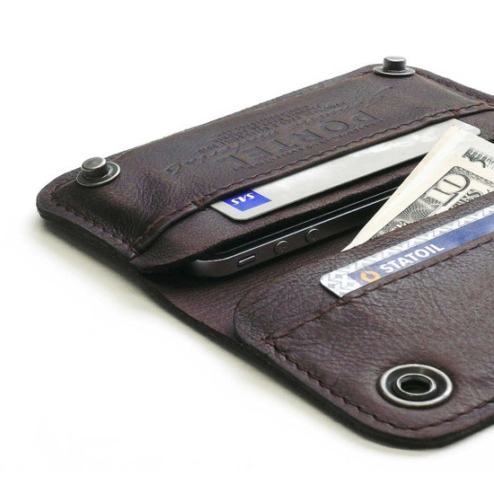 #Leather #iPhone #wallet $134