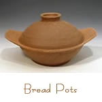Handmade Bread Pots