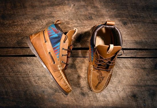 Handcrafted Leather Boat #girl fashion shoes