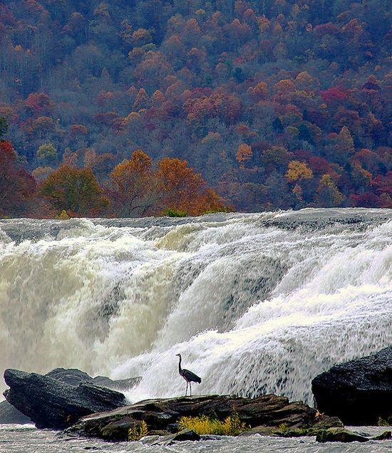 Sandstone Falls, West Virginia, USA