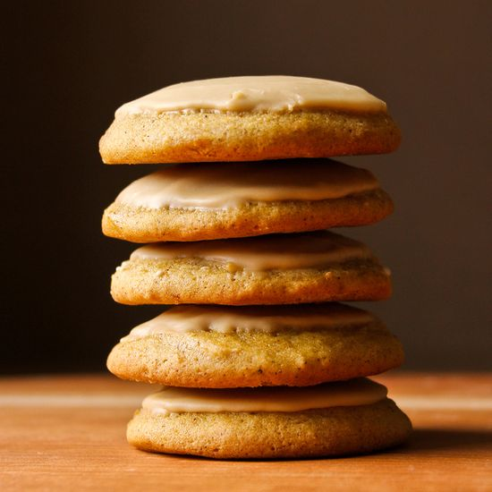Chai-Iced Pumpkin Cookies