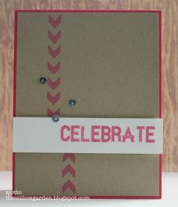 #handmade #card by @AJ Otto for #ScrapbookAdhesivesby3L and @Some Odd Girl stamps Blog Hop!