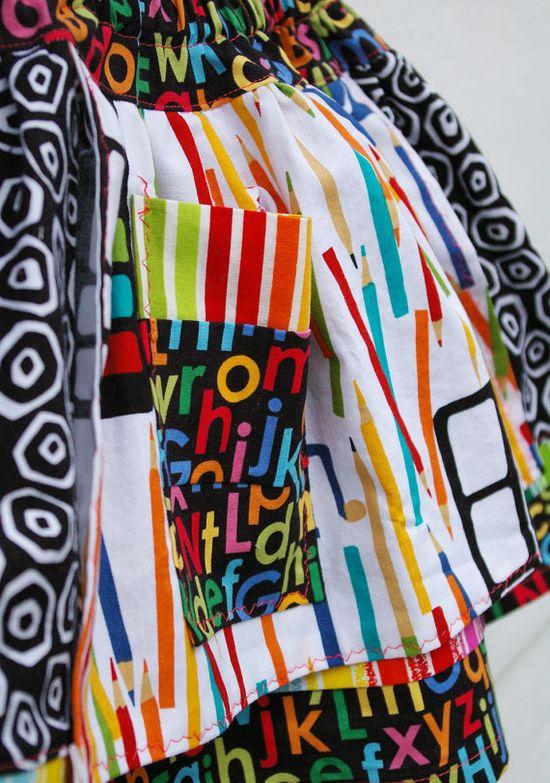 5T back to school... #handmade #skirt #girl