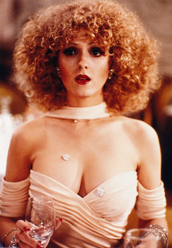 Bernadette Peters. She is so fabulous.