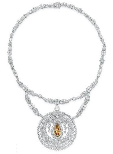 Fancy Diamond Necklace  1910