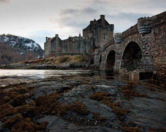 Eilean Donan Castle (abandoned)