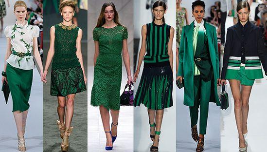 Emerald Trend Spring 2013 Runways