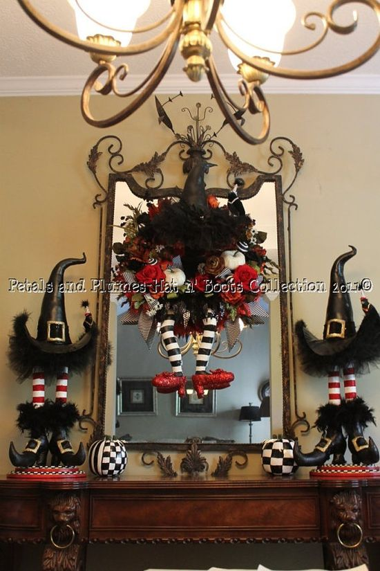 witches hats decor