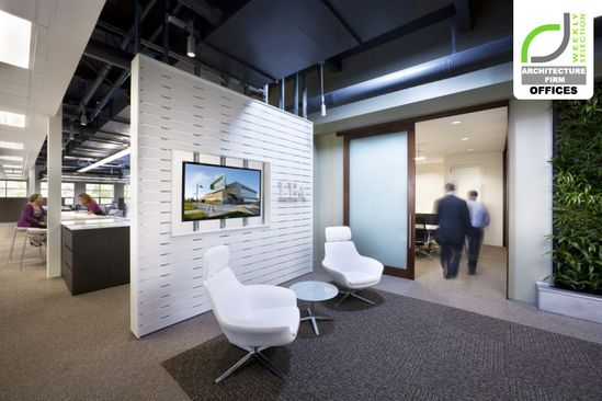 ARCHITECTURE FIRM OFFICES! LPA's sustainable office, Irvine – California