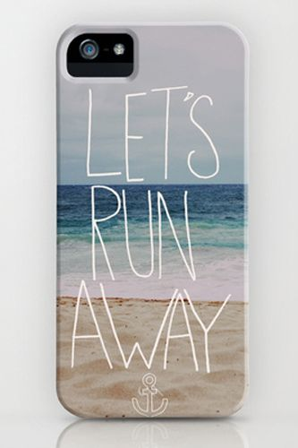 The perfect iPhone case for a weekend away at the beach.