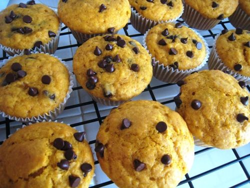 these look a little healthier than my normal (excellent) go-to pumpkin muffin. will try soon!