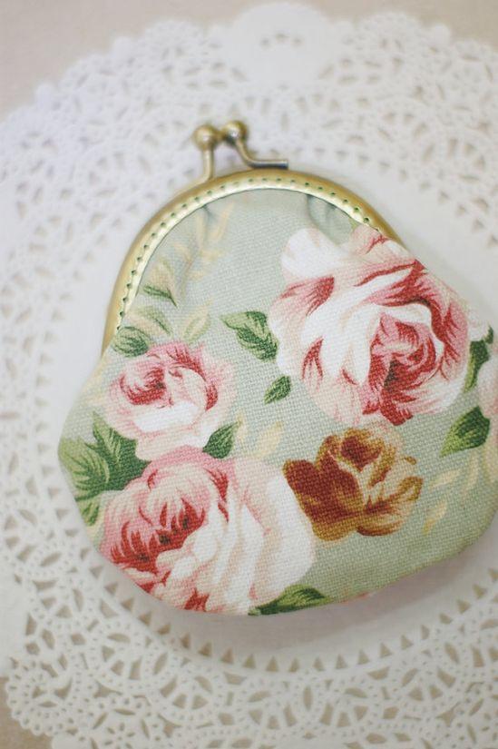 vintage rose pattern fabric