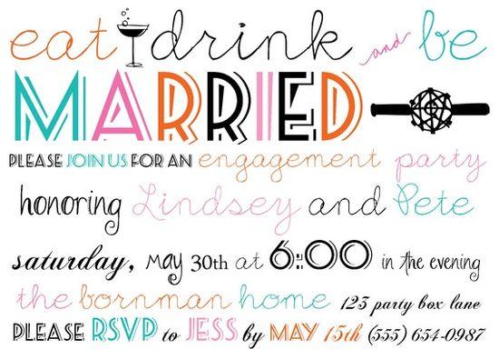 bachelorette party invite