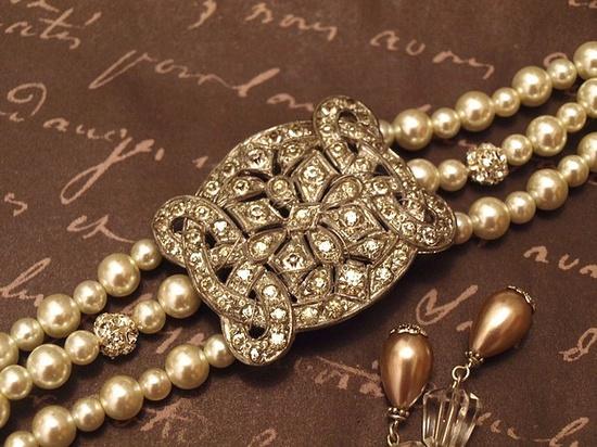 Vintage #pearls