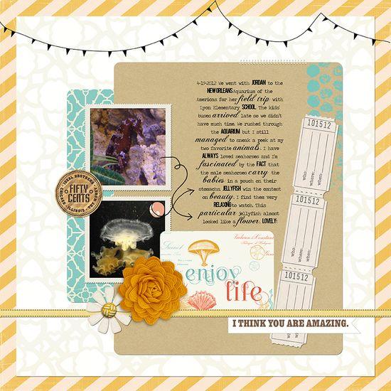 Enjoy Life - Scrapbook.com