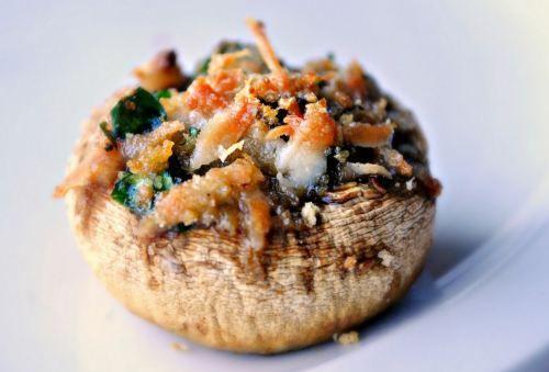Gourmet Stuffed Mushrooms