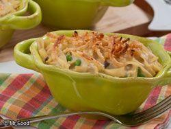 Mom's Tuna Noodle Casserole #Dinner #Recipe