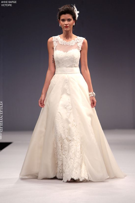 Anne Barge Fall 2013 Wedding Dresses Victoire