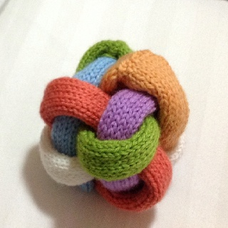 Knitted Baby toy