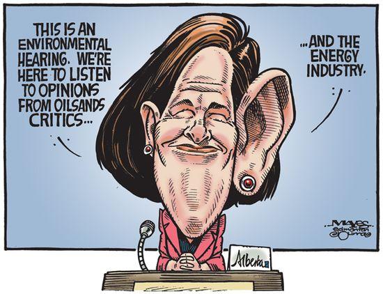 Malcolm Mayes cartoon - October 11