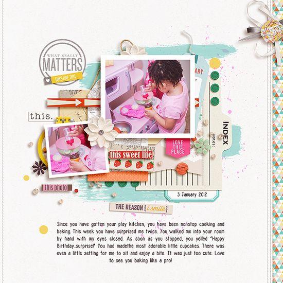 little baker - Scrapbook.com