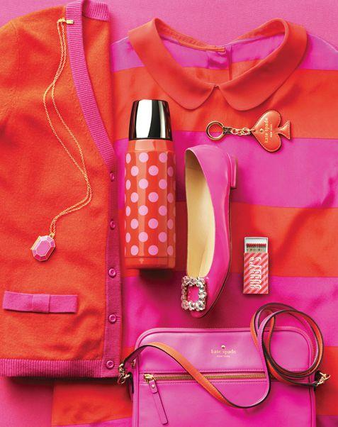 pink and orange always looks good